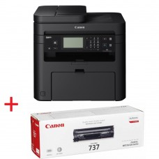 Canon i-SENSYS MF237w Printer/Scanner/Copier/Fax + Canon CRG-737