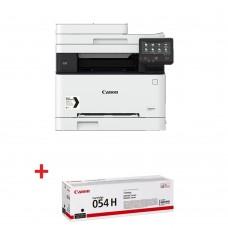 Цветни лазерни Мултифункционални устройства Canon i-SENSYS MF645Cx Printer/Scanner/Copier/Fax + Canon CRG-054H BK