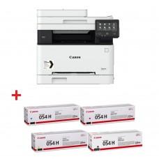 Canon i-SENSYS MF645Cx Printer/Scanner/Copier/Fax + Canon CRG-054H BK + Canon CRG-054H C + Canon CRG-054H M + Canon CRG-054H Y - Специална цена в комплект. Валидност до 31.03.2020г.