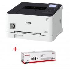 Цветни лазерни принтери Canon i-SENSYS LBP623Cdw + Canon CRG-054H BK