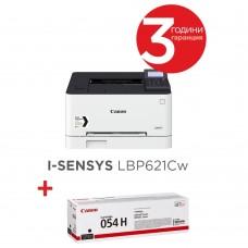Canon i-SENSYS LBP621Cw + Canon CRG-054H BK