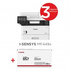 Canon i-SENSYS MF449x Printer/Scanner/Copier/Fax + Canon CRG-057