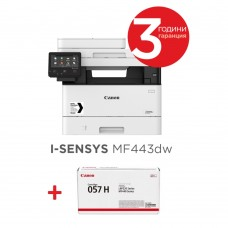 Canon i-SENSYS MF443dw Printer/Scanner/Copier + Canon CRG-057H