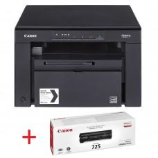 Черно-бели лазерни Мултифункционални устройства Canon i-SENSYS MF3010 Printer/Scanner/Copier + Canon CRG725 Toner Cartridge